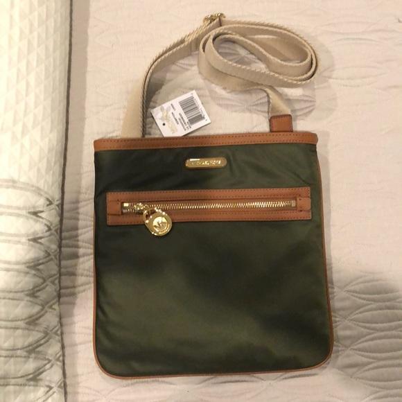 26235c29fd33 MICHAEL Michael Kors Bags | Michael Kors Kempton Crossbody Loden ...